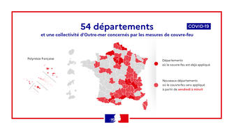 #COVID-19 - Etat d'urgence sanitaire et couvre-feu, les mesures dans les Pyrénées-Orientales